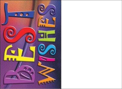 Amazon best wishes greeting card jewish greeting card hebrew best wishes greeting card jewish greeting card hebrew english one card with matching envelop m4hsunfo
