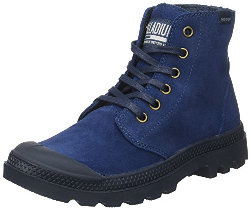Palladium Unisex-Erwachsene Pampa Hi O Su U Hohe Sneaker Blau (Indigo/total Eclipse)