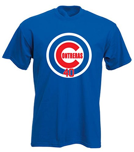 "The Silo BLUE Chicago Contreras ""LOGO"" T-Shirt YOUTH"