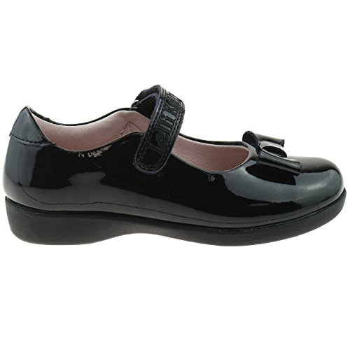 Shoes Black Fitting 28 DB01 Perrie LK8246 Kelly School 10 G UK Patent Lelli RSqU0Fx