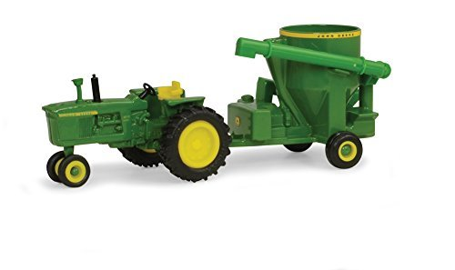 John Deere Ertl 4010 Tractor with Grinder Mixer (1:64 Scale)