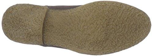 Manz Jack Ago H, Stivali a metà Polpaccio con Imbottitura Leggera Uomo Marrone (Braun (Dark Brown 202))