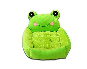 hot sale Green Cute Cartoon Frog Pet Nest Dog Cat Bed