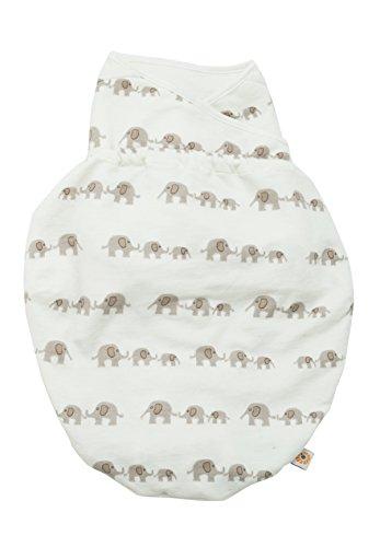 Ergobaby Original Swaddler Elephant (Blanket Swaddler)