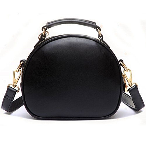 Shoulder Body Hibelief Black Women Purse Girls Cross Teen Handbags Pompon Bag Cat Fur wnF0q