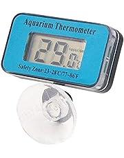Wuyee Termometro LCD sommergibile Digitale per Acquario per acquari (47 * 27 * 29mm)