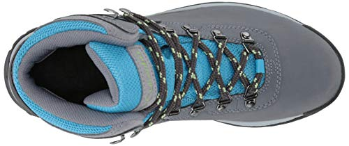 Columbia Women's Newton Ridge Plus Hiking Boot, Grey Ash/Riptide, 6 Regular US by Columbia (Image #7)