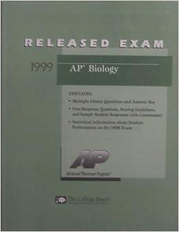 ap biology frq