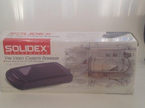 Solidex VHS Video Cassette Rewinder 938a