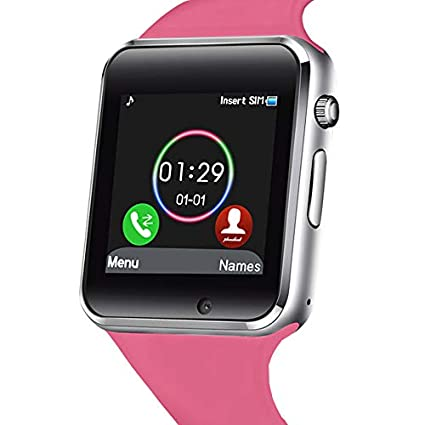 Smart Watch - 321OU Touch Screen Bluetooth Smart Watch Smartwatch Phone Fitness Tracker SIM SD Card Slot Camera Pedometer Compatible iPhone iOS ...