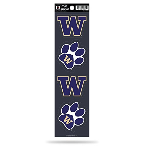 (Rico NCAA Washington Huskies Quad Decal)