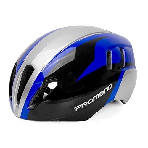 Casque de sécurité Casque de vélo de montagne pour hommes adultes femmes Ultralight moulé intégralement léger respirant 57 / 61cm