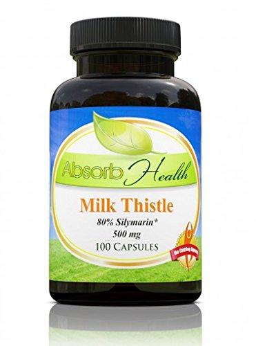 Thistle Silymarin Capsules Powerful Supplement