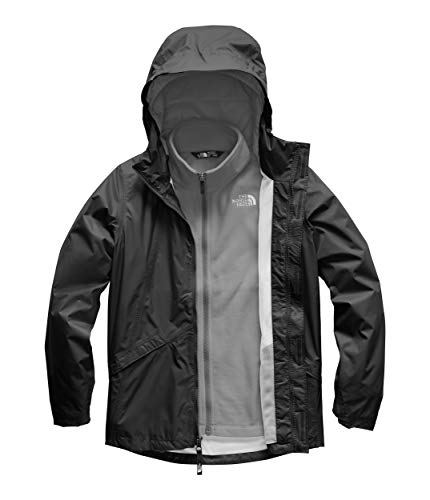 The North Face Kids Girl's Stormy Rain Triclimate (Little Kids/Big Kids) TNF Black Small (Childrens North Face Coat)