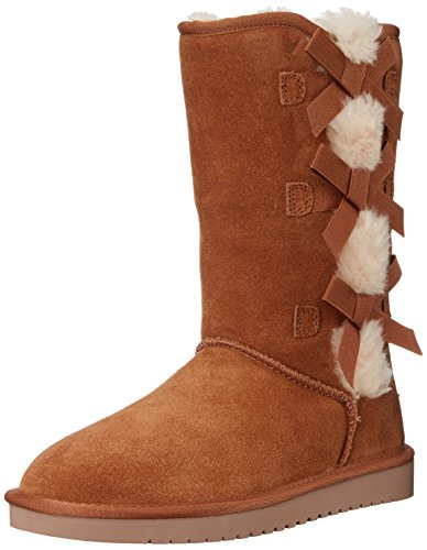 (Koolaburra by UGG Women's Victoria Tall Fashion Boot, Chestnut, 08 M)