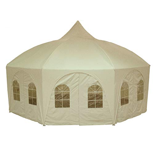 DELTA Canopies 20'x20' Octagonal Wedding Gazebo Party Tent Canopy Shade