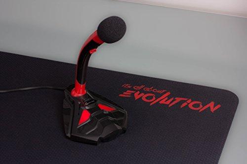 Klim microphone à pied usb pour ordinateur micro de bureau