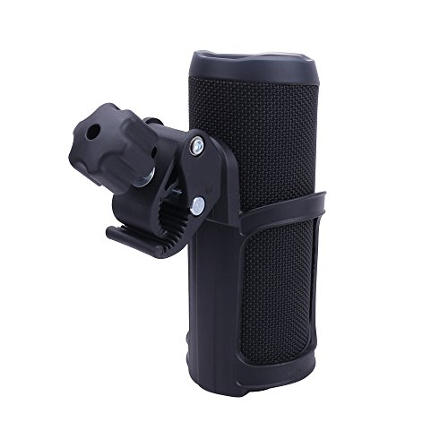 Aenllosi Cycling Bike Mount Holder with Clamp for JBL Flip 4/3 Bluetooth Speaker by (Holder Speaker)