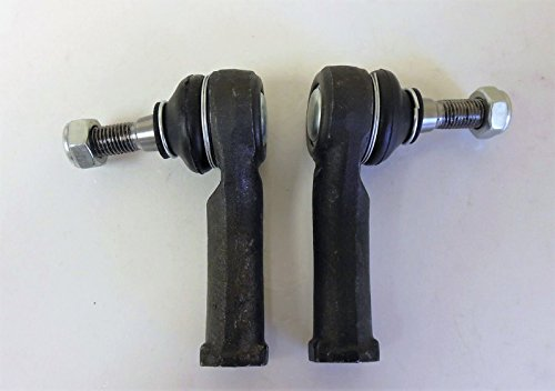 [Kit of 2 Pcs. 2 Outer Tie Rod Ends Right and Left Side] (Rod End Bushings)