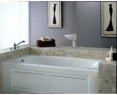 Amiga 72 X 36 Whirlpool Bathtub Color White Recessed Bathtubs Amazon Com