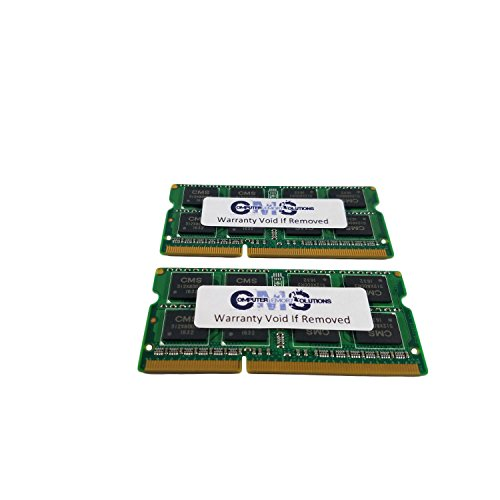 16GB (2x8GB Memory RAM Compatible with Toshiba Satellite C55-B930, C55D-A5170, C55D-A5372 BY CMS A7 by Computer Memory Solutions (Image #1)