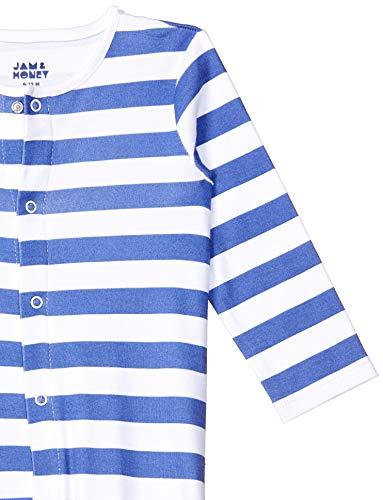 Amazon Brand – Jam & Honey Baby Boy's Bodysuit (Pack of 3)