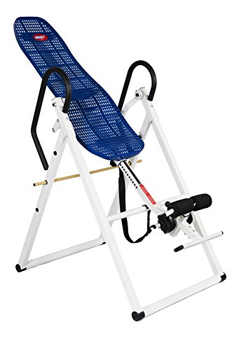 EMER 330 LBS, Lumbar Support,Foldable,Pro Deluxe Inversion Therapy Table Chiropractic Table Exercise Back Reflexology - 400 Inversion Tables