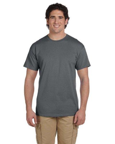 Fruit of the Loom 5 oz, 100% Heavy Cotton HD T-Shirt, Medium, Charcoal Grey