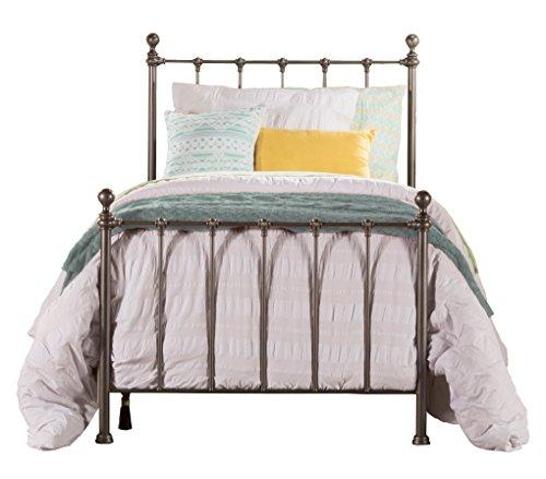 Hillsdale Furniture 1944TBF Hillsdale Molly Frame Twin Bed, Black Steel