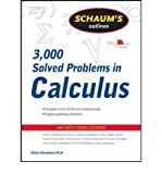 img - for [Schaum's 3,000 Solved Problems in Calculus] (By: Elliott Mendelson) [published: October, 2009] book / textbook / text book