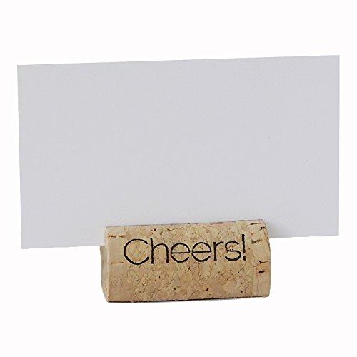 Wine Cork Place Card Holders Custom Cork Card Holders