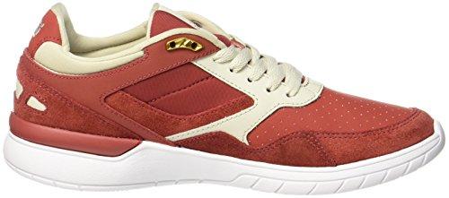 K-Swiss Herren Winslow Sneaker Rot (Cayenne/Bone-White)