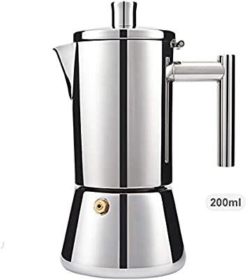 XIAOLULU Cafetera para Hacer Espresso Hecho a Mano de café Aparato ...