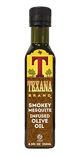 Texana Brand Smokey Mesquite Infused Olive Oil