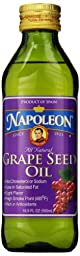 Napoleon Grapeseed Oil, 16.9 Ounce (Pack of 12)