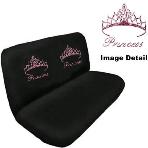 pink princess car seat covers - 5