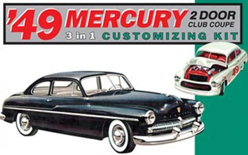 AMT 1949 Mercury Club Coupe 1/25 Scale Model Car Kit by ()