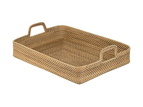 large wicker tray - 5