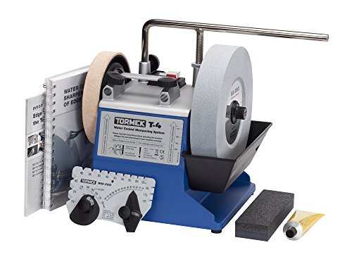 Water Cooled Tool Sharpening System Tormek T4 with an 8-Inch Stone. A Tormek Sharpening System...