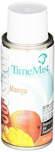 TimeMist 336360TMCACT Settings Micro Metered Aerosol Refills, Mango, 3oz (Case of ()