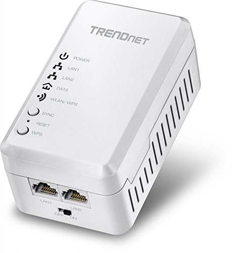 TRENDnet Powerline 500 AV Access Point WiFi Everywhere Wireless N300 Access Point, 500 AV Powerline and Wireless N 300, TPL-410AP (Wireless Trendnet Vista)