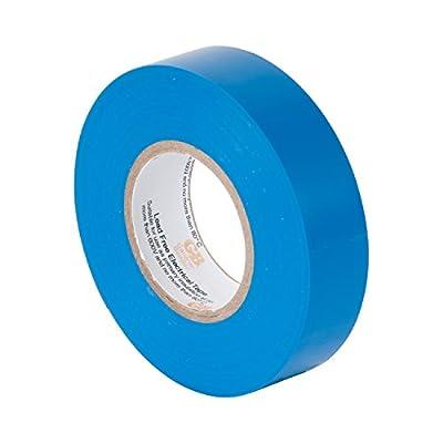 Gardner Bender GTB-667P Electrical Tape, ¾ in x 60 ft, Durable, Easy-Wrap, Flame Retardant, Blue