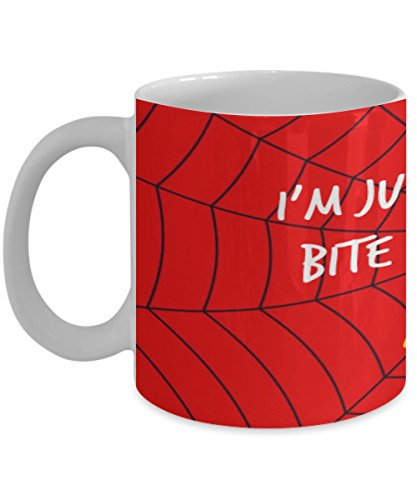 Spider Coffee Mug - I'm just one radioactive bite away from being amazing! - 11OZ -