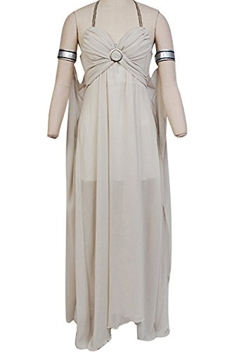 CosplaySky Game of Thrones Costume Daenerys Targaryen Mother of Dragons Dress X-Small