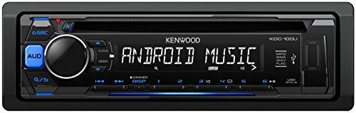 Kenwood KDC-100UB Autoradio USB/CD-Receiver mit Tastenbeleuchtung blau/schwarz