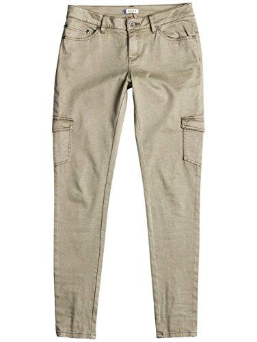 Roxy Cargo City - Pantalones Tipo Militar para Mujer, Color: OIL GREEN, Talla: 29