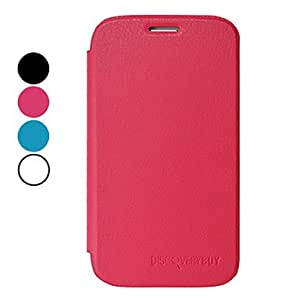 Elegant Fashion PU Leather Full Body Protective Case for Samsung Galaxy Grand Duos I9082(Assorted Colors) --- COLOR:Black