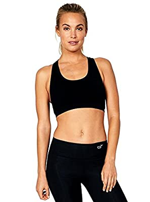 Boody Racerback Sports Bra - Medium Support With Sporty Style