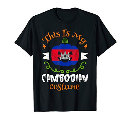 This Is My Cambodian Pumpkin Costume Shirt