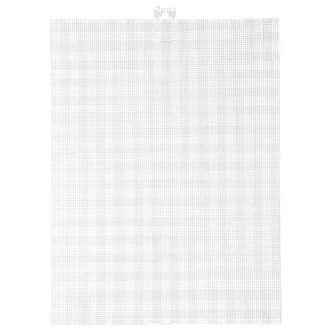Bulk Buy: Darice DIY Crafts #14 Mesh Plastic Canvas White 11 x 8-1/2 (12-Pack) 33275-2 (White Canvas Plastic)